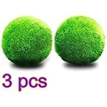 YMCHE - Bola de Musgo para Plantas vivas de Acuario, ecológica, Adorno para Tanque
