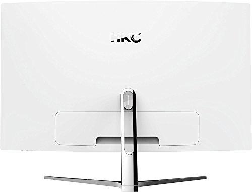 KC NB32C-DH 31,5 Zoll Curved 1800R LED Breitbild-Bildschirm (1920x1080, 5mS, HDMI, DVI, VGA Ports), Weiß