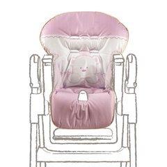 Ricambio seggiolone in pvc baby re rosa