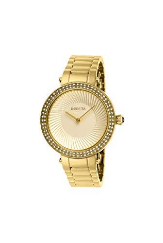 Invicta Women's Specialty Gold-Tone Steel Bracelet & Case Quartz Watch 27005