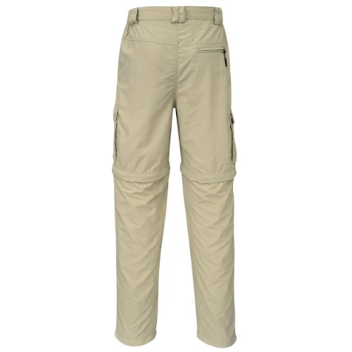 Cox Swain Trekking Hose Range Men Quick Dry - Anti Moskito - UV Schutz, Colour: Khaki, Size: XL