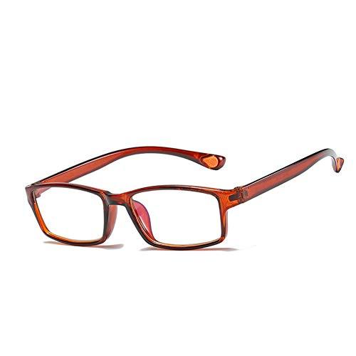 Unisex-Lesebrille, ultraleichte Anti-Blaulicht-Brille, 100 150 200 250 300 Grad, Brille für alte Männer