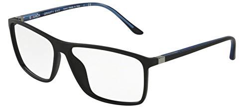 Starck eyes occhiali da vista 0sh3030 matte black 61/14/145 uomo
