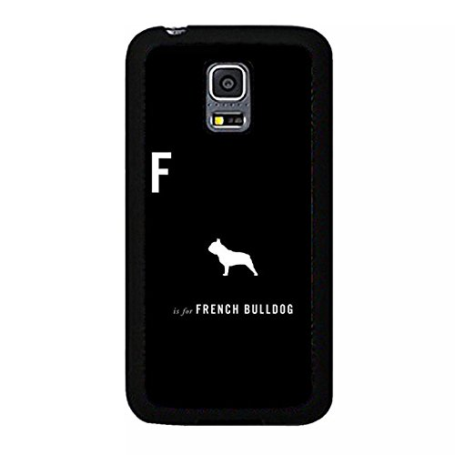 ni French Bulldog Shell Cover,Hot Cool Design French Bulldog Phone Case Cover for Samsung Galaxy S5 Mini French Bulldog Unique (Halloween-mini-hot Dogs)