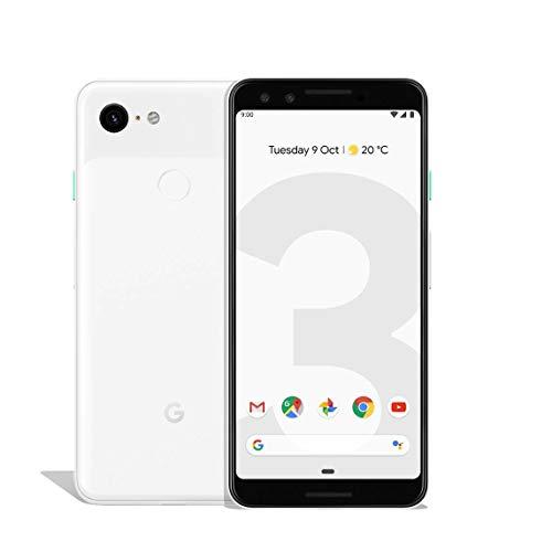 Google 99928198 - Smartphone Pixel 3, 13,86 cm (5,46 pollici), 2.5 GHz, 64 GB, 12,2 MP, colore: Bianco trasparente