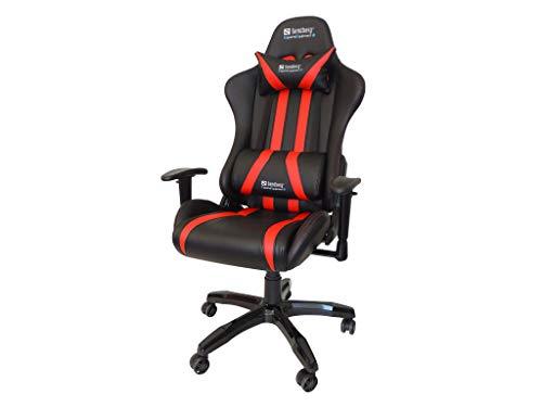 Sandberg 640-81 Commander Gaming Chair Gamepad schwarz/Red