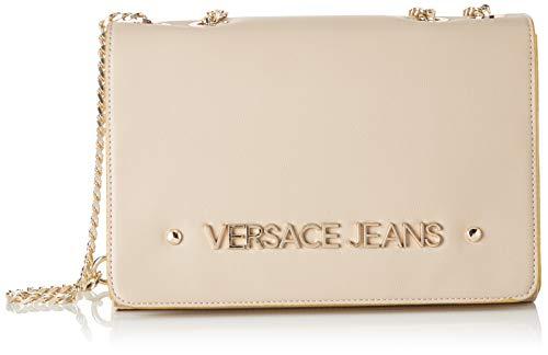 Versace Jeans Bag, Borsa a tracolla Donna, Beige (Legno), 9x17x25.5 cm (W x H x L)
