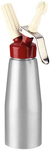 Tescoma 630544 Sifone adatto in cucina, Acciaio Inossidabile, Grigio/Rosso