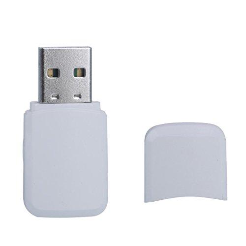Sharplace Adaptador WiFi USB Receptor Inalámbrica Antena Dual-Band 600mbps para PC