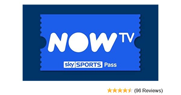cc99858ee27 1 Month Sky Sports Pass for NOW TV.: Amazon.co.uk: Electronics