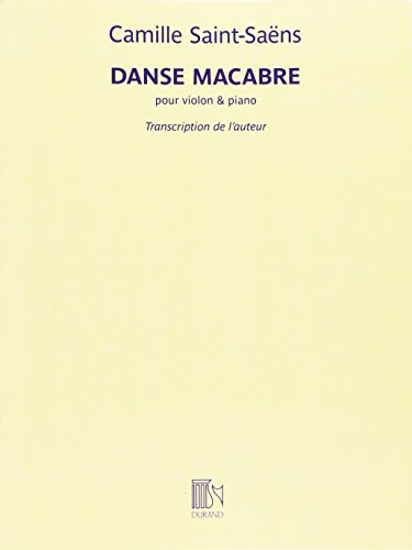 Danse Macabre pour Violon et Piano Violon-Livre +Partition