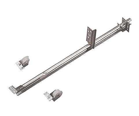 Knape & Vogt 1175P ZC 22,63 po Rail simple kit de glissi-re de tiroir zinc