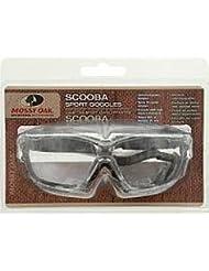 Mossy Oak Scooba Goggle (Clear/Break Up, Mossy Oak/Clear, One size) by Mossy Oak