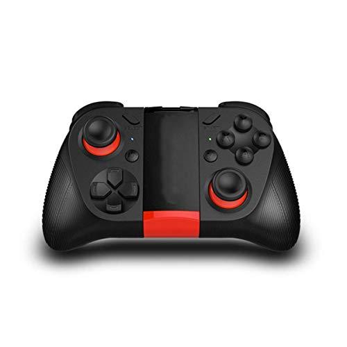 HWZDQLK Gamepad Controller, kabelloser Bluetooth Empfänger Mobiler Gaming Controller Gamepad Joystick mit Teleskophalterung for Android iOS PC Smart TV/TV Box -