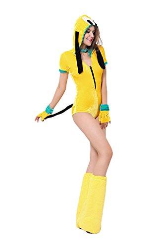 Damen-Kostüm SEXY PLUTO Gr. (Maus Minnie Kostüme Mickey Maus Pluto Und)