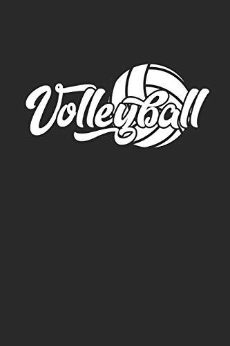 Volleyball: Notizbuch für Volleyball Spieler Notebook Journal 6x9 lined di Kathy Patton