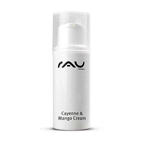 RAU Cayenne & Mango Cream 5 ml - Gesichtscreme mit Anti-Aging Effekt gegen Falten