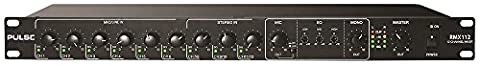 PULSE 12 Channel Mic/Line Audio Mixer with Priority - 19