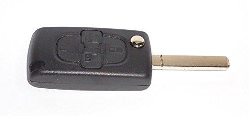KLEMAX Coque de clé Adaptable Peugeot 807, Peugeot 1007 référence: PSA407C