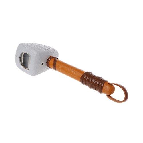 Besttse Kreativer Stein Bierflaschenöffner Hammer Caveman Bar Werkzeug Küche mit Griff (Kochen Caveman)
