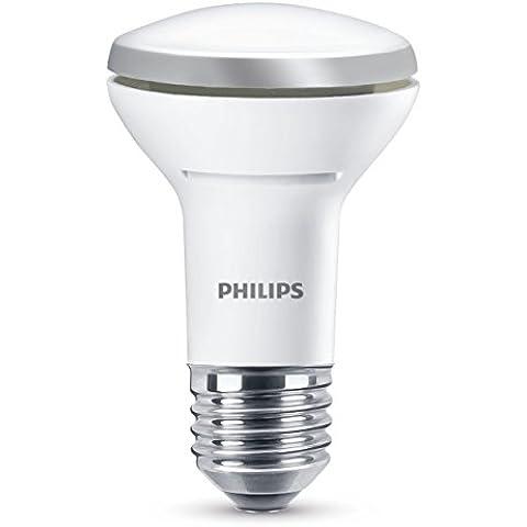 Philips 929001114430 - Bombilla LED reflectora, casquillo E27, consume 5,7 W, equivalente a 60 W, regulable, luz blanca cálida