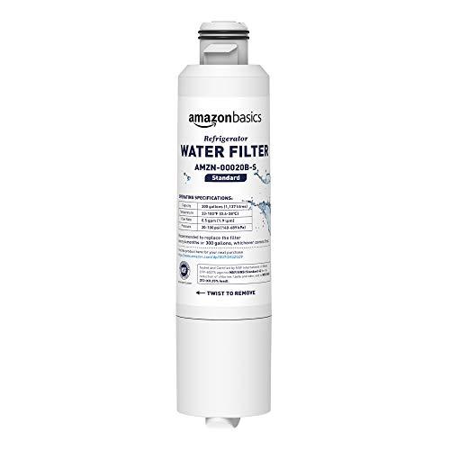 AmazonBasics - Samsung DA29-00020B, Ersatz-Wasserfilter für den Kühlschrank - Standard-Filtration - American Standard Filter