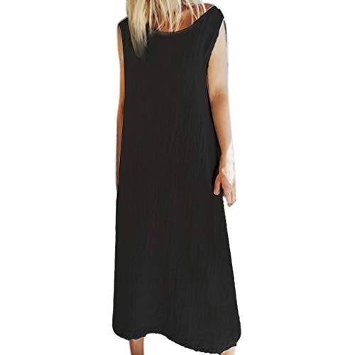 amen Summer Dress for Women Kleider Damen festlich Rock Knielang Damen Rockabilly Kleid Vintage ()