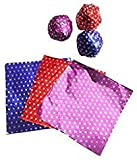 #3: line n Curves Decorative Aluminium Printed Chocolate Wrapping Foil Sheets for Chocolates, Candies Rakhi Gifting Packing Size -12x9 cm