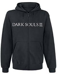 Dark Souls 3 Hoodie -L- You Died, schwarz [import allemand]