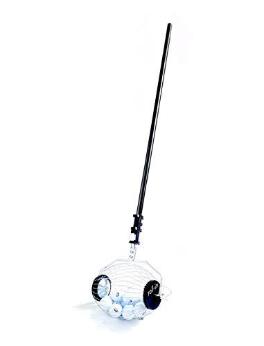 Kollectaball Bagbuddy (40 Golfball Sammler | Golfballpickel | Golfballangel) Kollektiere Golfbälle und Teile sie mit Leichtigkeit ohne Rückbeugen