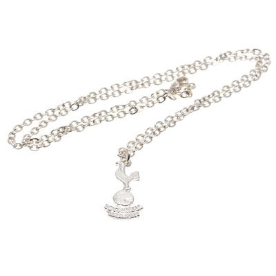 Official-TOTTENHAM-HOTSPUR-FC-silver-plated-pendant-chain