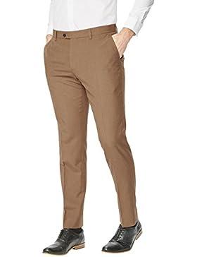 next Hombre Pantalones De Traje De Frente Plano Estilo Elegante Formal