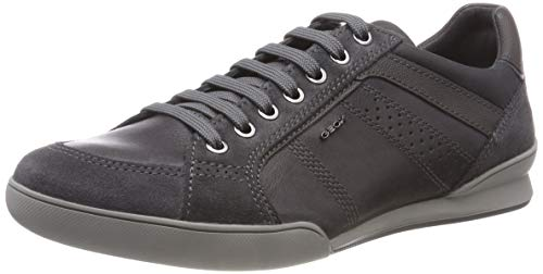 U Kristof Sneaker Herren in modischem grau - Inspiriert Flachen Schuh
