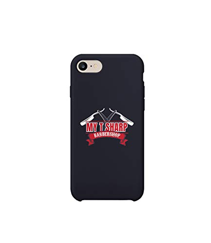 7077ddb6a8a GlamourLab My T Sharp Barber Shop Queens Retro_R2324 Carcasa De Telefono  Estuche Protector Case Cover Hard