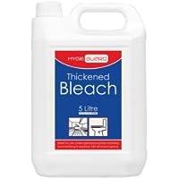 2x 5Litri spessore Bleach bottiglie–Bodyguards spessore Bleach. 2x 5Litri bottiglie. Altamente efficiente spessore Bleach disinfettante thatl uccide tutti i germi noti. Questo facile da usare Bleach è più durevole azione più normale bleaches..