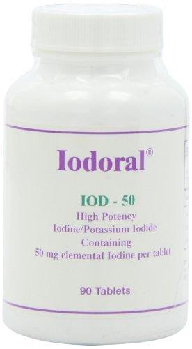 Optimox Iodoral 50mg 90 tabs by OPTIMOX
