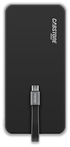 Preisvergleich Produktbild Cabstone 70741 PocketPower 6.0 Micro USB,  Kompakte Powerbank,  6000 mAh
