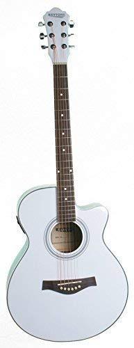 KEYTONE Jumbo acústica/Guitarra Western con pastilla