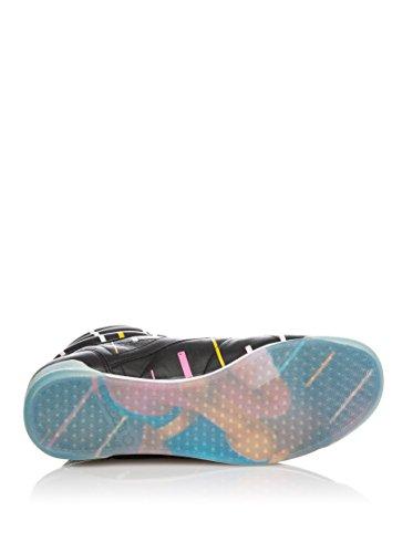 New Reebok F/S HI-Int-Nostalgia Femmes chaussures Noir/Light Azure
