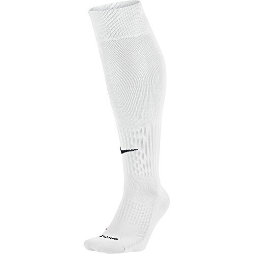 Nike knee high classic football dri fit unisex - bianco (bianco/nero) - 42–46 eu (8–11 uk)