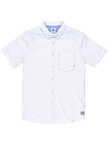 Herren Hemd kurz Element Greene Hemd White