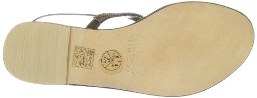 Unze Evening Sandals, Damen Sandalen Braun (L18270W)