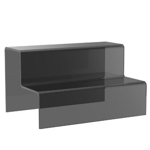 Pequeño Displaypro transparente acrílico 2 paso pantalla pedestal elevador tienda para joyas PoS - entrega gratis!