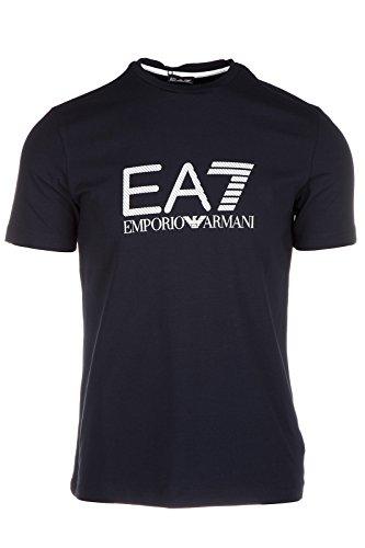 Emporio Armani EA7 t-shirt maglia maniche corte girocollo uomo blu EU M (UK 38) 6XPTA6 PJ18Z 1578