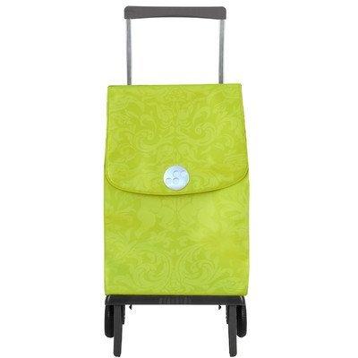 Faltbarer Einkaufstrolley in edlem Design Rolser Plegamatic Orbita Gloria Lima