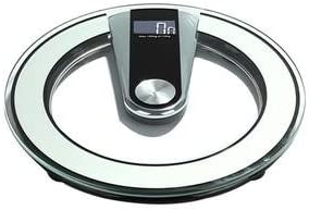 Glive Personal Body Weight Machine Digital Bathroom Weighing Scale (13 x 13 Inch)