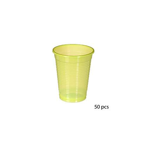 Gobelets jetables 20 cl - 50 gobelets - Vert