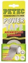 Petec 86205 Power Tape SB-Karte, 5 m, Silber