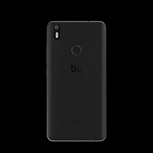 BQ Aquaris X - Smartphone de 5 2   WiFi  3 GB de RAM  memoria interna de 32 GB  Bluetooth 4 2  c  mara de 16 MP  dual nano-SIM  Android 7 1 1 Nougat