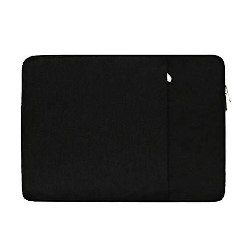 15 Zoll Laptophülle Tasche für Lenovo ideapad 320 720/Dell Inspiron 15/HP 15 Pavilion 15 Spectre x360 15 Envy 15/Acer Aspire E5 F5 ES1 V3,Schwarz